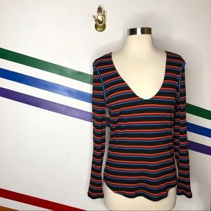 NEW Free People striped top